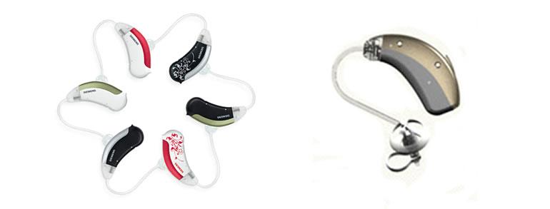 Achter-het-oor hoortoestellen